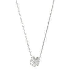 Floral Necklace - Steel