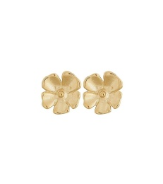 Floral Studs S - Gold