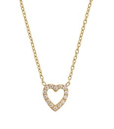Glow Heart Necklace - Gold