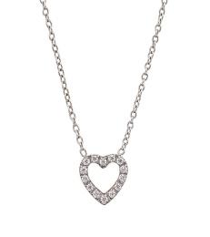 Glow Heart Necklace - Steel