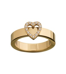Glow Heart Ring - Gold