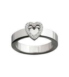 Glow Heart Ring - Steel