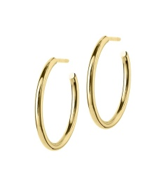 Hoops Earrings - Gold Medium