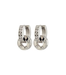 Ida Orbit Earrings- Steel