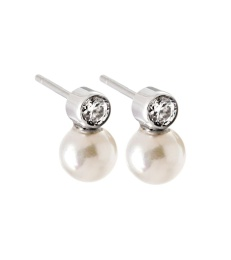 Luna Studs Small - Steel