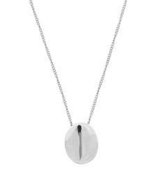 Pebble Mini Necklace - Steel