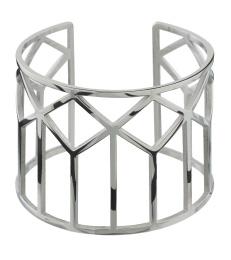 Shirin Bangle - Steel