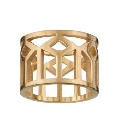 Shirin Ring - Matt Gold