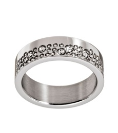 Sparkle Ring - Steel