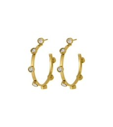 Tina Earrings Small - Gold
