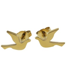 Dove Studs Small - Gold
