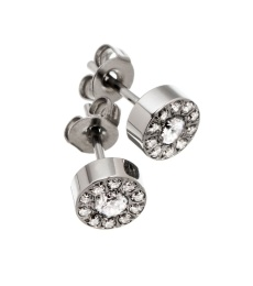Thassos Studs Mini - Steel