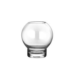 Ljuslykta / Glasvas - Ø 9cm