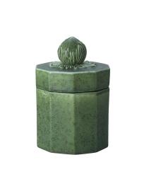 Keramikburk Hasselnöt - Grön