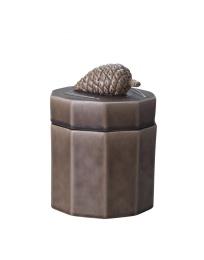 Keramikburk Kotte - Brun