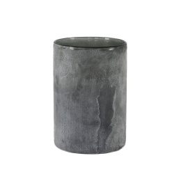 Frost Candleholder L - Grey