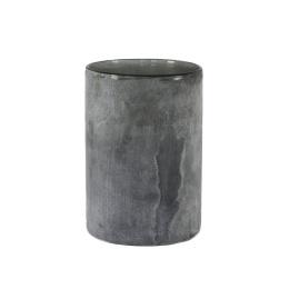 Frost Candleholder L - Grey