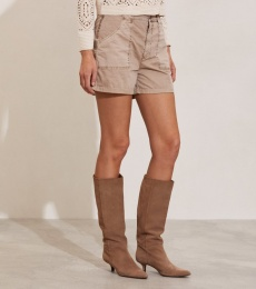 Heather Shorts - Light Taupe
