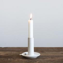 Lou Candleholder - White