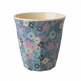 Medium Mugg - Små Blommor