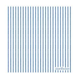 Servett randig - Azulblå