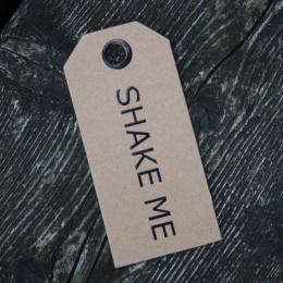 Shake Me - Naturtags