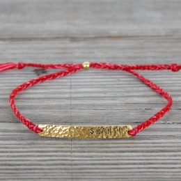 Shanti - Gold/Red