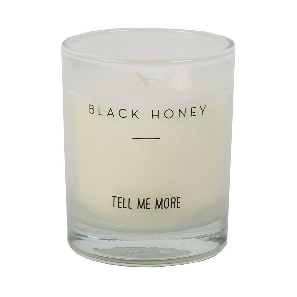 Scented Candle Clean S - Black Honey