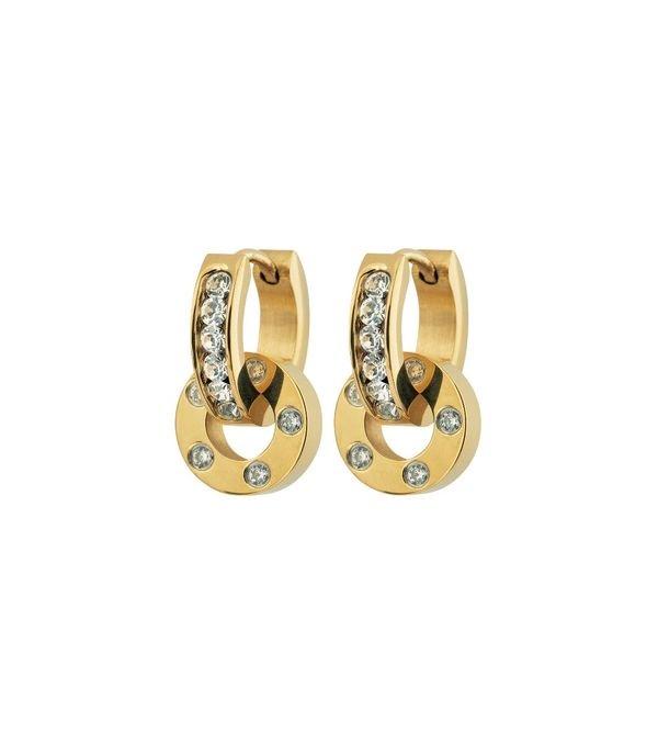 Ida Orbit Earrings - Gold