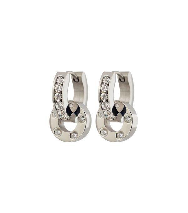 Ida Orbit Earrings- Steel