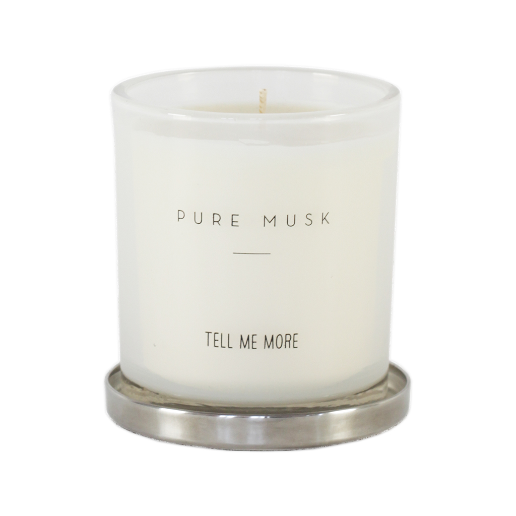 Scented Candle Clean - Pure Musk