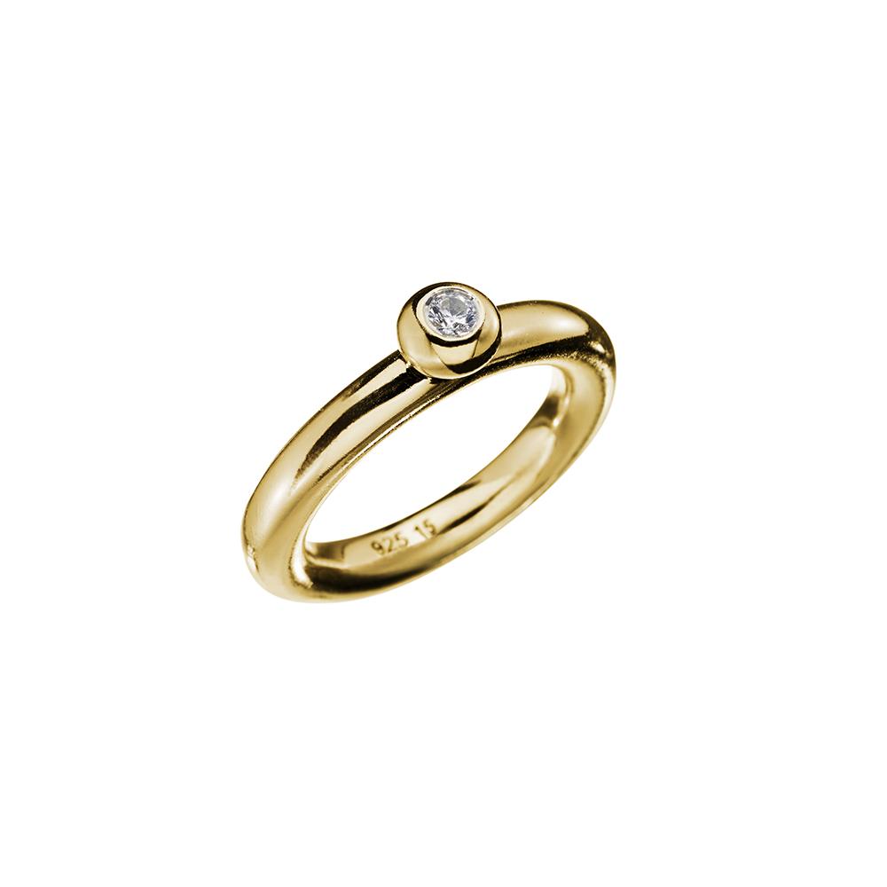 Ring Lightball Zicron - Gold