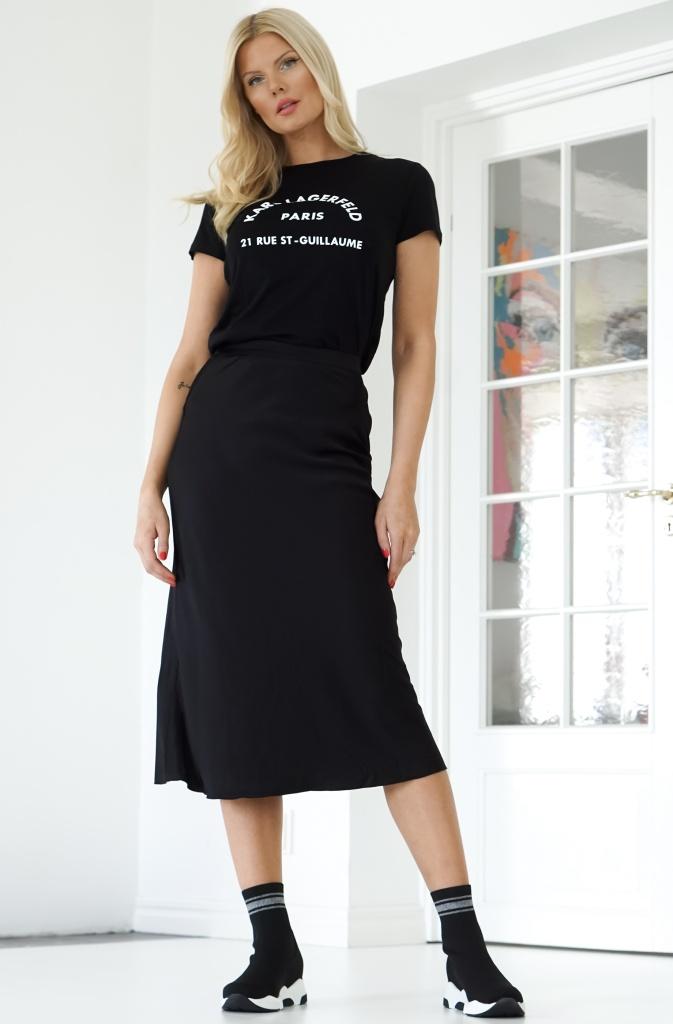 AHLVAR - Hana Satin Skirt