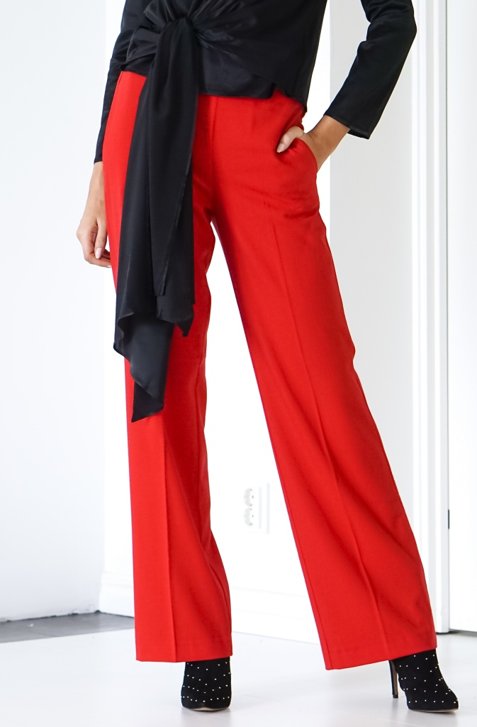 ALIX THE LABEL- Wide Leg stretch Pant