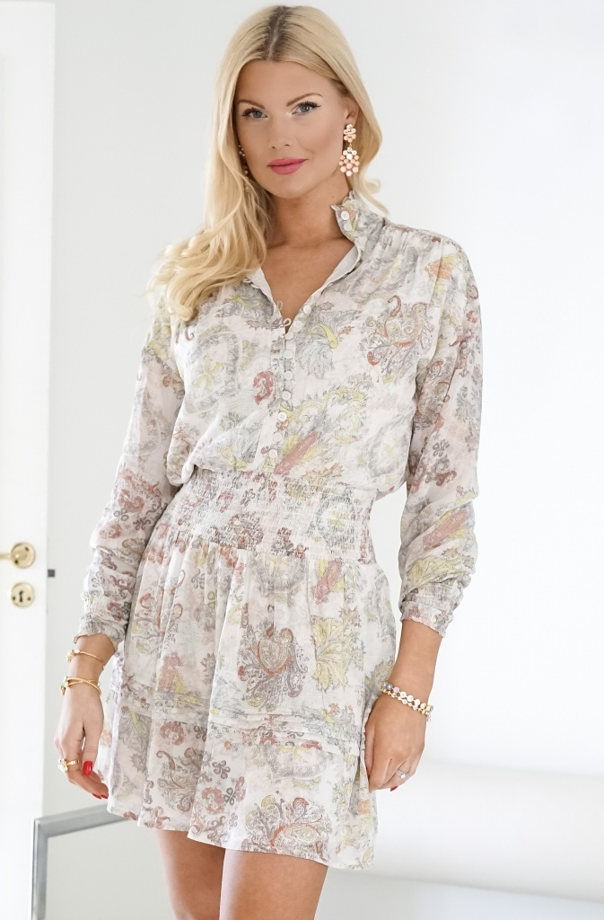 ALIX THE LABEL - Paisley Chiffon Dress