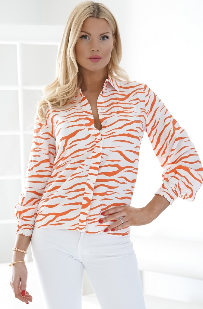 ALIX THE LABEL - Zebra Blouse