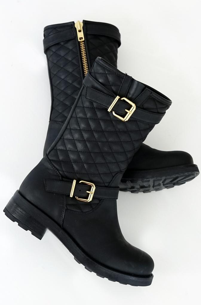 BUMPER - Midhöga Quiltade Boots 235