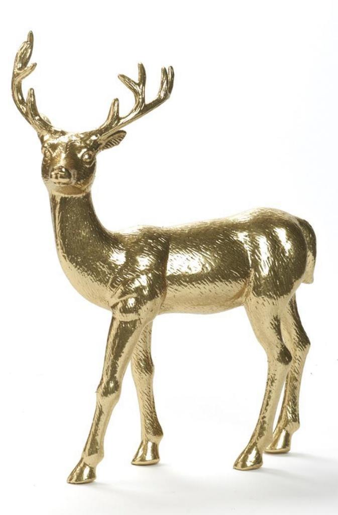 Gold Deer 45 cm