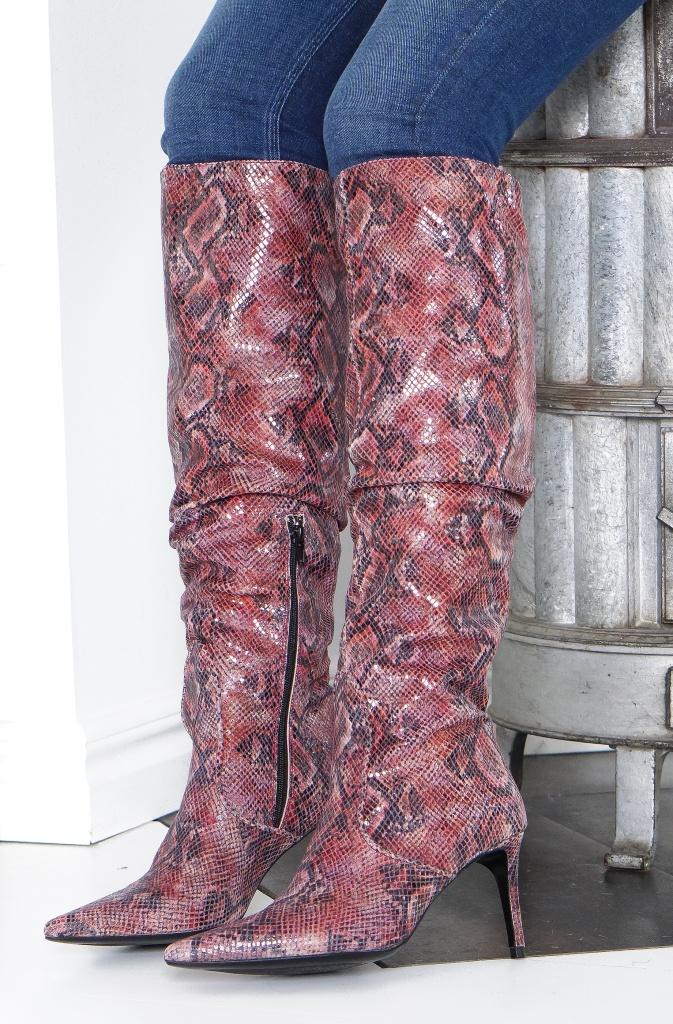 CUSTOMMADE - Agneta Knee High Boot Pointy