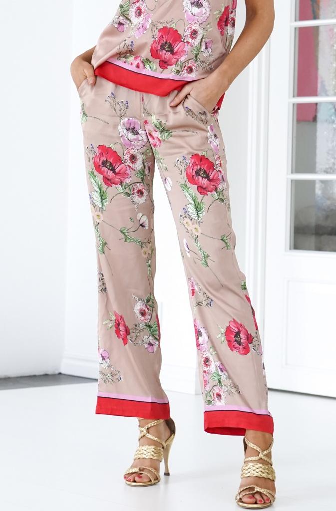GUSTAV - Printed Loose Wide Legs Pants