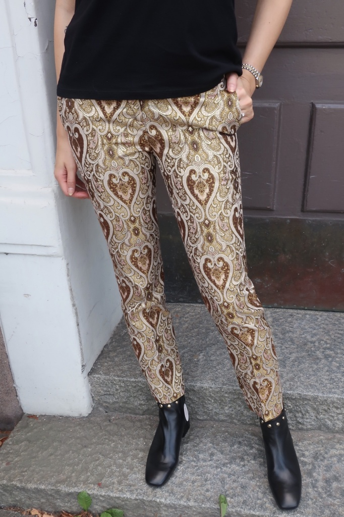 TWINSET - Jacquard Trousers