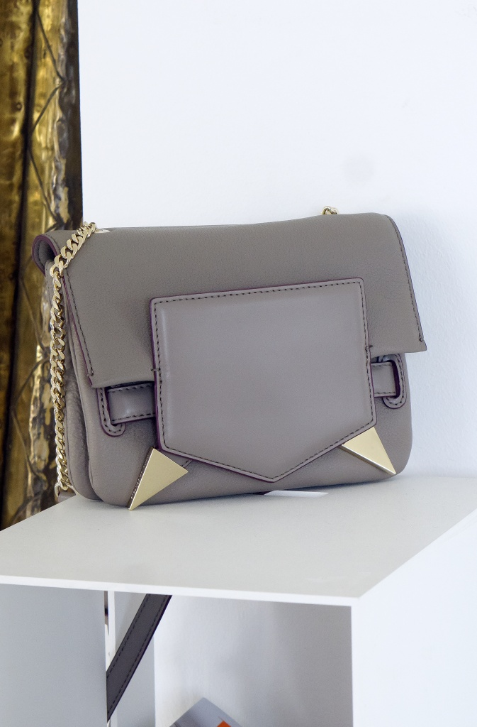 KARL LAGERFELD - Bag with Gold Details