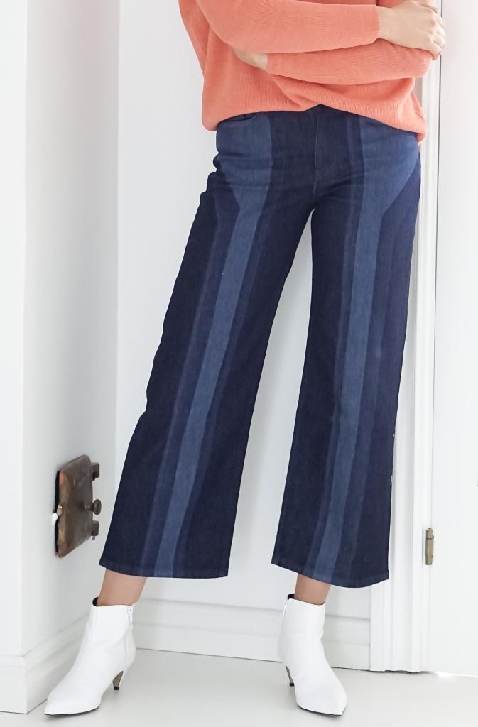 NAIM JOSEFI - Lazer Jeans Wide Ankle