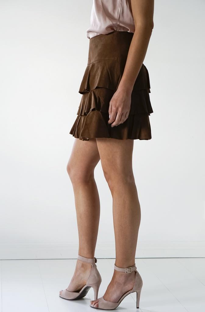 PLUS FINE - Kinou Skirt Suede