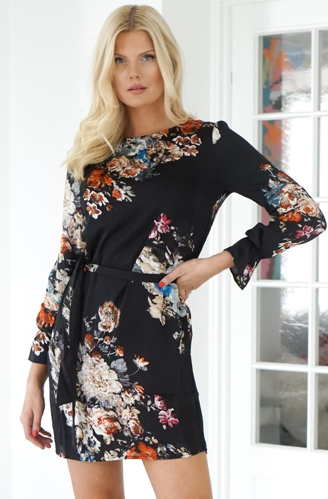 RUT & CIRCLE - Penny Flower Dress