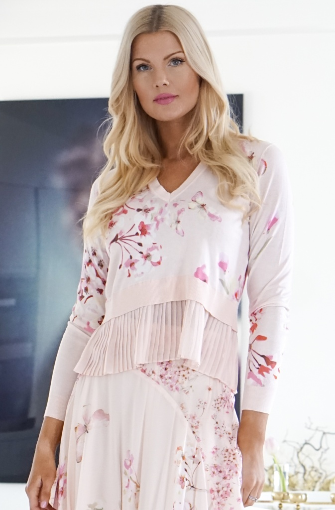 TWINSET - Magnolia Butterfly Top