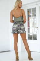 ALIX THE LABEL - Camo Shorts