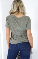 ALIX THE LABEL - Washed Tshirt