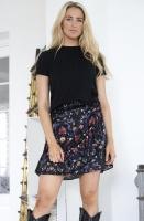 ALIX THE LABEL - Multi Colour Satin Skirt