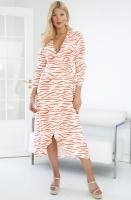 ALIX THE LABEL - Long Zebra Dress